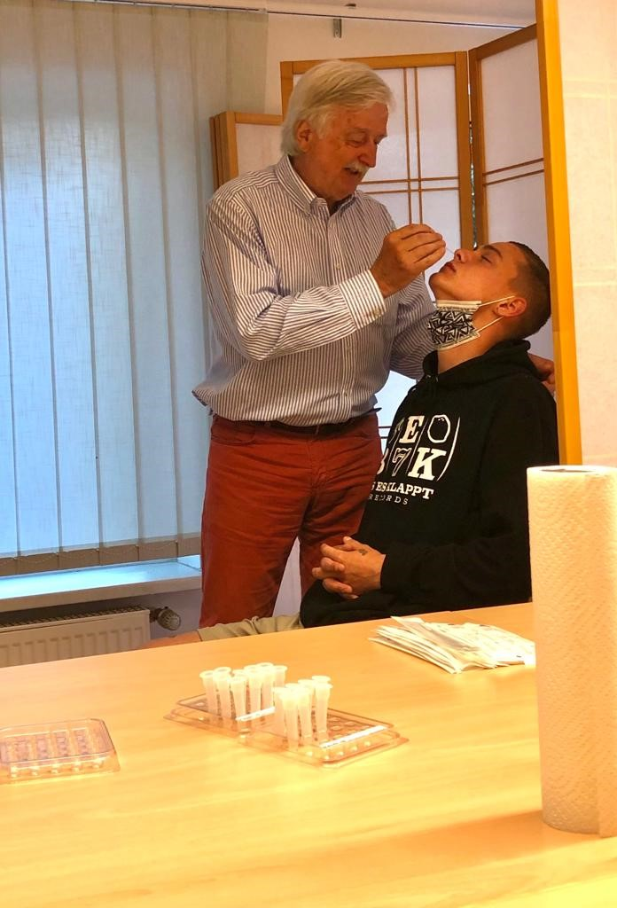 Heiner Winker Impfkampagne
